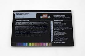 Black Business Cards Printed With Your Custom Design On Epic
