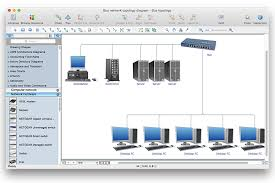 add a computer network diagram to a ms word document  conceptdraw    network topology diagram