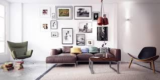 scandinavian leather furniture. 50 Scandinavian Living Room Design Ideas \u2013 Functionality And Simplicity Leather Furniture