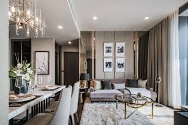 Show Living Room Designs The Monument Sanampao Show Units By Sansiri Flat Interior