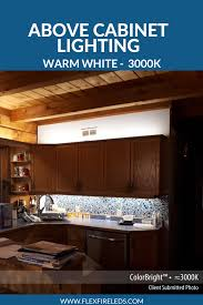 Above Cabinet Lighting Ideas Accent Led Strip Lights For Above Kitchen Cabinet Lighting