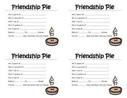 friendship recipe template. Image result for recipe card template pie Real Estate Pop By