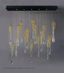 water chandelier luxury branch water drops chandelier design copper chandelier lighting dale chihuly chandelier water bottles