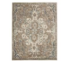 nolan persian style rug neutral pottery barn