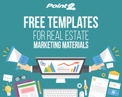 Free Templates For Real Estate Marketing Materials Point2