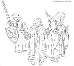 Le Monde De Narnia Colorator Net Coloriages Pour Les Enfants