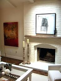 white painted brick fireplace painted brick fireplace white best painted brick fireplaces ideas on brick painted