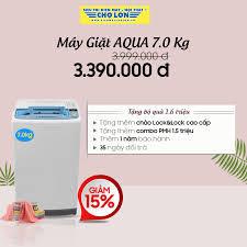 Máy Giặt AQUA 7.0 Kg AQW-K70 Link SP:... - Siêu Thị Điện Máy - Nội Thất Chợ  Lớn