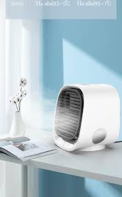 Máy Quạt Điều Hòa Mini Mùa Hè, Quạt Điều Hòa Hơi Nước Mini Làm mát cực  nhanh bằng công nghệ lọc không khí tiên tiến, Vận hành êm ái, tiết kiệm điện