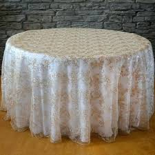 120 round white tablecloth round sequins fl tablecloth whole wedding chair covers l wedding party supplies