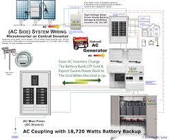 ac coupling 6600 watt home battery backup system ac coupled 6600