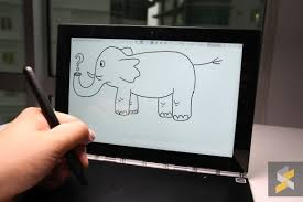 the second is that you can use this wa developed surface to sketch and draw with the included real pen stylus just hit the little pen icon at the top