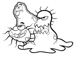 Small Picture For Germs Coloring Page Science Bebo Pandco
