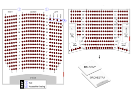 Seating Chart The Historic Cocoa Village Playhouse