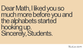 Dear Math Quotes For Students. QuotesGram