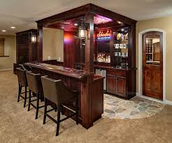 furniture exciting wooden mini home bar decorating ideas with