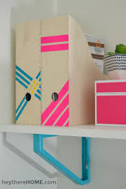 Simple Office Design Delectable 48 Simple DIY's To Organize Your Office