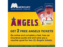 mercury insurance takes angels fans out to the ballgame