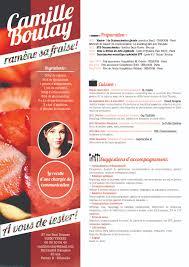 French Resume Camille Boulay Cv Francais Camille Boulay Loca
