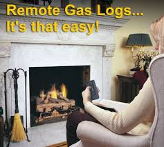 Remote Control Gas Logs