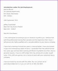 Letter Of Introduction Good Cover Letter Introduction Free Sample