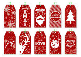 Collection Of 10 Christmas Gift Tags Cool Christmas Labels