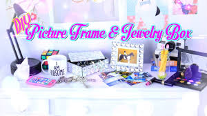 diy quick craft how to make a doll picture frame jewelry box handmade crafts