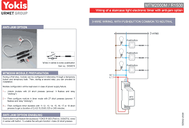 staircase timer wiring diagram all wiring diagram 2000w staircase lights timer neutral and anti jam option yokis magneto ignition system diagram staircase timer wiring diagram