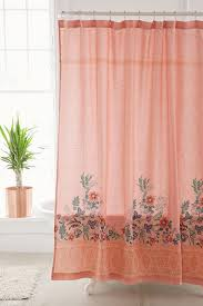 Beachy Floral Shower Curtain Floral Shower Curtains Floral And
