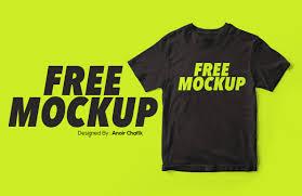 Mockup Shirt Design Free Realistic T Shirt Mockup Free Design Resources