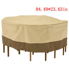 outdoor patio sette chair set cover