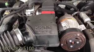 00 01 02 03 Chevy s10 2.2 Used Engine Transmission Auto Parts ...
