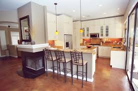 This kitchen before the remodel: