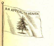 Locke's appeal to heaven is not about prayer; Pine Tree Flag An Appeal To Heaven Details And Inspiration A Closer Look
