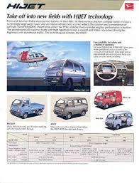 cheap daihatsu hijet wiring diagram daihatsu hijet wiring get quotations · 1987 daihatsu hijet van pickup brochure