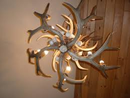ceiling lights lamps made with deer antlers whitetail deer chandelier elk horn chandelier 3