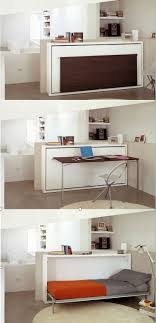 Best 25+ Fold down desk ideas on Pinterest | Fold down table ... The Poppi  Desk is a space saving modern murphy bed that features a fold down desk.