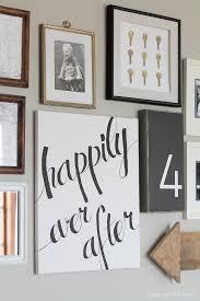 easy diy home decor idea learn how to create a gorgeous script art canvas