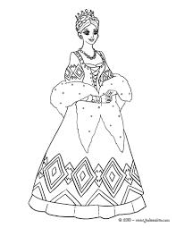 Coloriages Coloriage Princesse Indienne Fr Hellokids Com