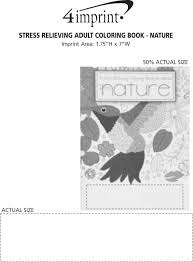 view imprint area previous stress relieving coloring book nature