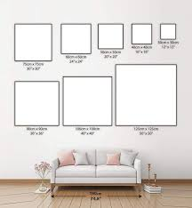 Canvas Sizes Chart Size Guide Qunnsrog