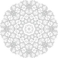 Calming Mandala Coloring Pages Hard Of Flowers Unique Abstract
