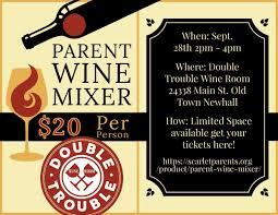Hoi Polloi Lights Parent Wine Mixer Scarlet Foundation
