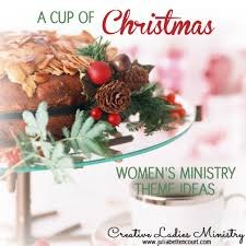 Christmas Program Theme Heres My Cup Womens Devotional Tea Party Activities