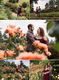 it was fun walking around the rows of roses and snapping photos of them enjoying each other s company we can t wait for their wedding this september