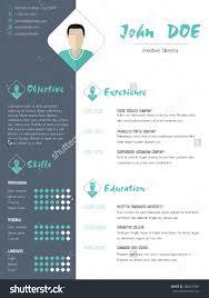 modern cv curriculum vitae resume design stock vector  modern cv curriculum vitae resume design photo