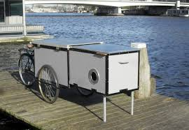Small Picture This Cargo Bike Hides A Tiny Homeless Shelter
