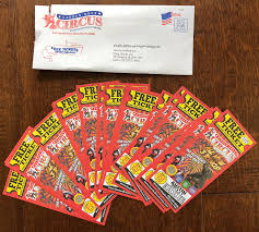 garden bros circus direct mail gives free tickets away