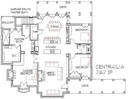 Large Open Floor House Plan CHPLG2621GA Sq Ft  Large Open Large House Plans