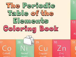 The periodic table, also known as the periodic table of elements, is a tabular display of the chemical elements, which are arranged by atomic number, electron configuration. Periodic Table Of The Elements Coloring Book Chemviews Magazine Chemistryviews